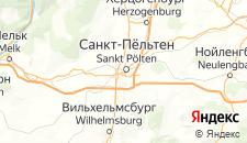 Отели города Санкт-Пёльтен на карте