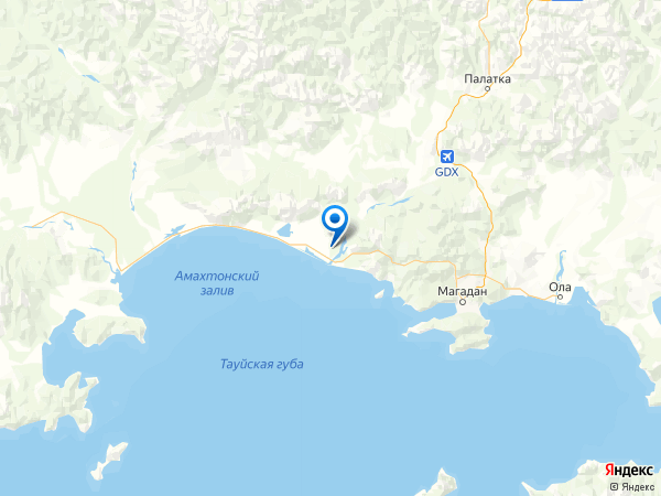 поселок Радужный на карте