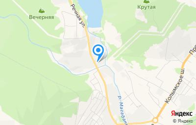Местоположение на карте пункта техосмотра по адресу г Магадан, ул Речная, д 25