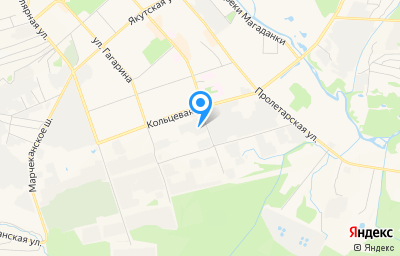 Местоположение на карте пункта техосмотра по адресу г Магадан, ул Кольцевая, д 13А