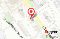 Схема проезда до компании Редакция газеты Воин сибири в Черепаново