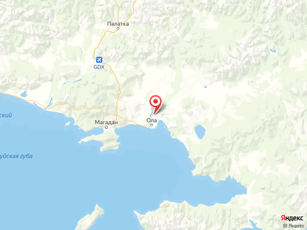 село Заречный на карте