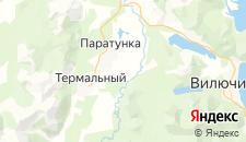Отели города Паратунка на карте