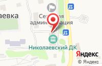 Схема проезда до компании Библиотека-филиал №5 в Николаевке