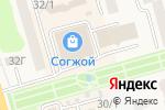Схема проезда до компании Золотая кисть в Елизово