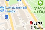 Схема проезда до компании Electro Smoke в Елизово