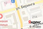 Схема проезда до компании Адвокат Червякова Е.Д. в Елизово