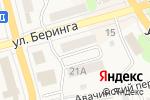 Схема проезда до компании ЮНИКС в Елизово