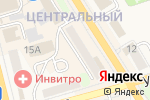 Схема проезда до компании Тревел пасифик в Елизово