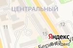 Схема проезда до компании Скорпион в Елизово