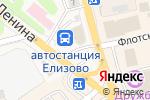 Схема проезда до компании Апгрейд в Елизово