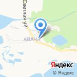 Основная общеобразовательная школа №37 на карте Петропавловска-Камчатского