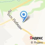Камчатгэсстрой на карте Петропавловска-Камчатского