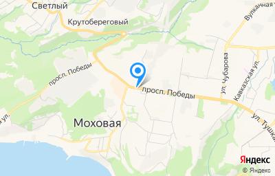 Местоположение на карте пункта техосмотра по адресу г Петропавловск-Камчатский, пр-кт Победы