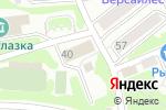 Схема проезда до компании Командор в Петропавловске-Камчатском