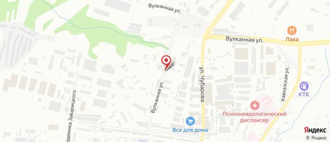 Карта расположения пункта доставки DPD Pickup в городе Петропавловск-Камчатский