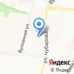 Киприно на карте Петропавловска-Камчатского