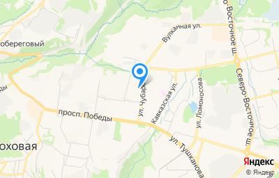 Местоположение на карте пункта техосмотра по адресу г Петропавловск-Камчатский, ул Чубарова, д 16