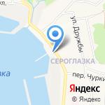 Компания Алиот на карте Петропавловска-Камчатского