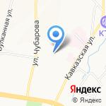 Парад конфет на карте Петропавловска-Камчатского