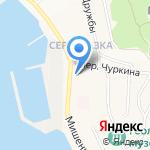 Киоск №720 на карте Петропавловска-Камчатского