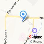 Стройбат на карте Петропавловска-Камчатского