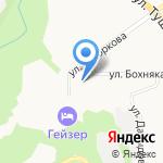 Петропавловская кадастровая служба на карте Петропавловска-Камчатского