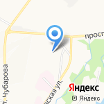 Knauf-центр на карте Петропавловска-Камчатского