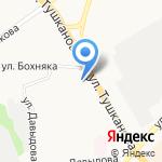 Библио Глобус на карте Петропавловска-Камчатского