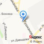 Книжный магазин на карте Петропавловска-Камчатского