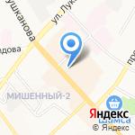 Патио на карте Петропавловска-Камчатского