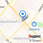 Царские черевички на карте Петропавловска-Камчатского