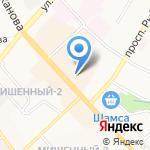Саквояж на карте Петропавловска-Камчатского