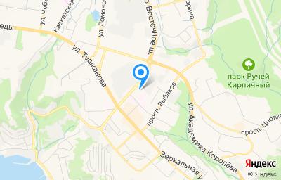 Местоположение на карте пункта техосмотра по адресу г Петропавловск-Камчатский, ул Лукашевского, д 19