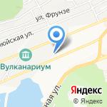 Ирбис плюс на карте Петропавловска-Камчатского