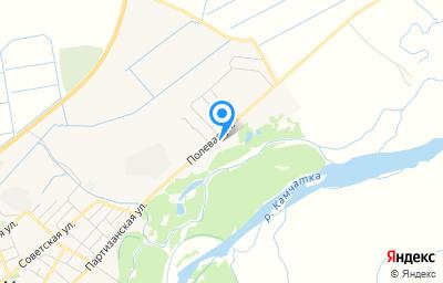 Местоположение на карте пункта техосмотра по адресу Камчатский край, с Мильково, ул Полевая, д 131