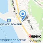 Владфризинг на карте Петропавловска-Камчатского