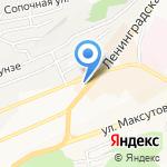 Вилена Shoes на карте Петропавловска-Камчатского
