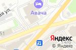 Схема проезда до компании Багира в Петропавловске-Камчатском