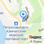 Служба ЗАКАЗЧИКА на карте Петропавловска-Камчатского
