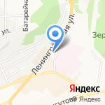 Мила на карте Петропавловска-Камчатского