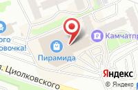 Схема проезда до компании Интернет-Проект «Полуостров Камчатка» в Петропавловске-Камчатском