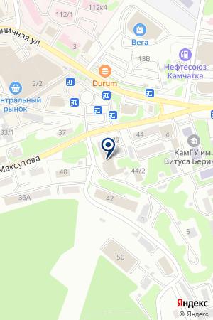 Apple service на карте Петропавловска-Камчатского