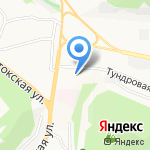 Еврострой на карте Петропавловска-Камчатского