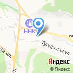 Новый Дом на карте Петропавловска-Камчатского