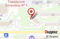 Схема проезда до компании Батани - Камчатка в Петропавловске-Камчатском