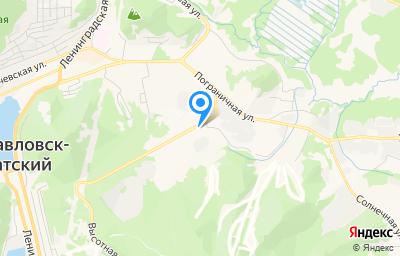 Местоположение на карте пункта техосмотра по адресу г Петропавловск-Камчатский, ул Высотная, д 3
