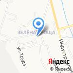 Пресса-Табак на карте Петропавловска-Камчатского