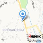Женская консультация №3 на карте Петропавловска-Камчатского