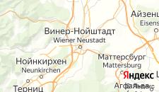 Отели города Винер-Нойштадт на карте